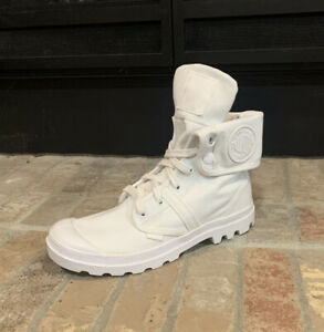 *NEW IN BOX* Palladium Men's Pallabrouse Baggy Chukka Boot  WHITE US 8