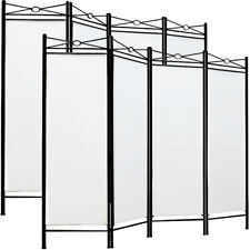 2x Paravent Screen 4 Pieces Room Divider Privacy Panel Partition Seperator Wall