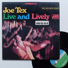 "LP Joe Tex  ""Live and lively"""