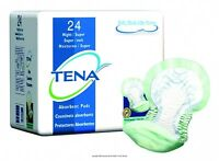 HEAVY ABSORBENCY! TENA Night Super Bladder Control Pads Incontinence - 1/2 CASE!
