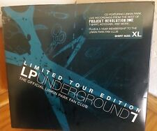 Linkin Park Underground Fan Club - CD/T-Shirt/KeyChain -Tour Edition - Brand NEW