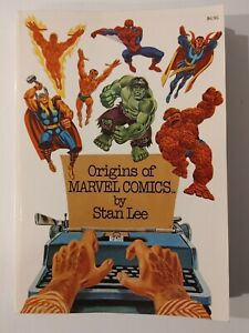 Origins of Marvel Comics by Stan Lee, soft cover