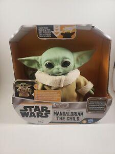 Star Wars Baby Yoda Grogu The Child Animatronic Motion Talking Mandalorian Toy..