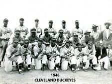 1946 CLEVELAND BUCKEYES 8X10 TEAM PHOTO BASEBALL PICTURE NEGRO LEAGUE