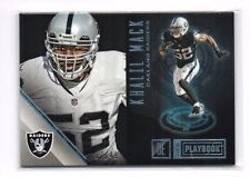 Khalil Mack 2016 Panini Playbook, (Platinum), 7/49 !!
