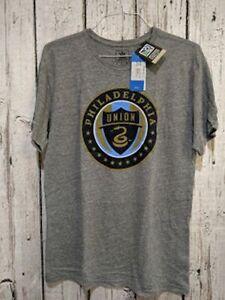 LZ Mens Adidas Large Short Sleeve Tee Shirt T-Shirt  Philadelphia Union MLS