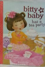 American Girl Bitty Baby Hardcover Book - Bitty Baby has a Tea Party