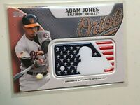 F35328 2017 ADAM JONES Orioles MLB Logo Patch