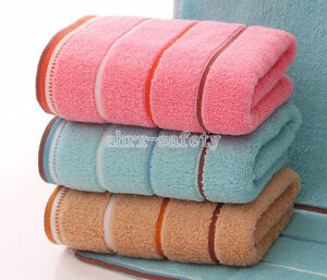 74*35cm Extra Absorb Water Sweat Towel 100% Cotton Face Cloth Hand Bath Towel