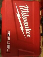 New Milwaukee 2897-22 18V COMBO Case For Hammer Drill & Impact 2704-20 2753-20