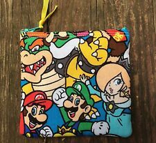 Nintendo Mario Donkey Kong Handmade Fidget Spinner Case Coin Purse CC Wallet