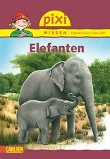 Pixi Wissen Band 18 Elefanten Ab 6 Jahren