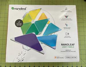 Nanoleaf Aurora Rhythm 9 Modular Multicolor Light Panel Smarter Kit NO RESERVE