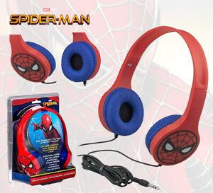Spiderman Headphones For Kids with Child Friendly Volume, Marvel Licensed Heroes
