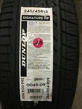 1 New 245 45 18 Dunlop Signature HP Tire