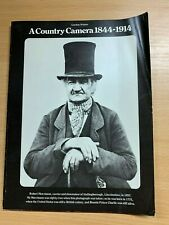 """1973 """"A COUNTRY CAMERA 1844-1914"""" HISTORY ILLUSTRATED PAPERBACK BOOK"""