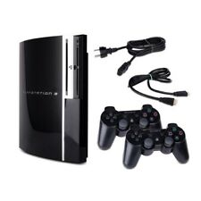 Playstation 3-PS3 Consola Fat 40Gb Cechg04 Negro + Cable + 2 Mando