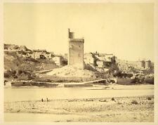 Photo Edouard Baldus Albuminé Villeneuve lès Avignon1851