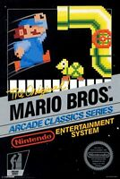 Mario Bros. Arcade Nintendo Nes Cleaned & Tested Cart Only Authentic