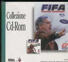 FIFA SOCCER MANAGER ita+STAGIONE 96-97 pc cd rom ITALIANO nuovo SIGILLATO