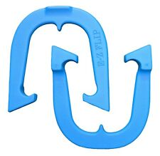 E-Z Flip Pro Professional Pitching Horseshoes- Blue One Pair, Made in USA