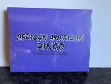 African American Bingo Game New Sealed