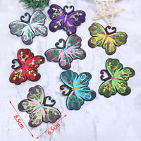 5Pcs Embroidery Butterfly Patch Applique Clothes Ironing Clothing Sewing Supp_TI