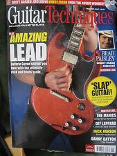 Guitar Techniques October 2007 mag cd vgc