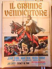 Il Grande Vendicatore manifesto poster Cobb Real Torray avventura Simeoni  4F M