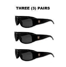 (3) PAIRS Jackson™ Smith & Wesson® Elite® Safety Glasses Smoke Anti-Fog 3016313