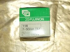 NEW ORIGINAL FUJI Fujifilm DM 50mm F1.6  X- FUJINON Lens FUJINON X SERIES in BOX