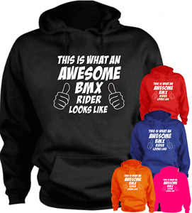 This Is What An Awesome Bmx Rider Looks Like Funny New Hoodie Gift