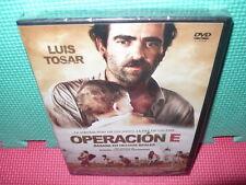OPERACION E - LUIS TOSAR - HECHOS REALES  - dvd