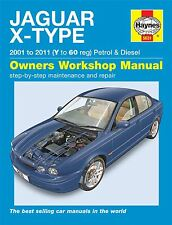 Haynes Service & Repair Manual Jaguar X Type Petrol & Diesel 01-10 V To 60 5631