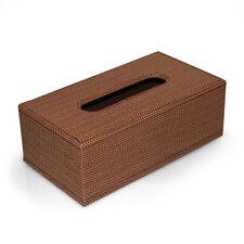 Kosmetiktuchbox Taschentuchbox PU-Leder Korb Struktur Tissuebox Kleenexbox