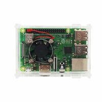 Per Raspberry Pi 3 Modello B (Plus) Custodia Acrilica Trasparente Coperchio C4F5