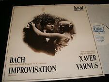 BACH°IMPROVISATION<>XAVER VARNUS<>*RARE* Lp VINYL~Hungary Pressing~LP 1213