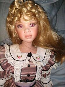 "25"" Porcelain Doll BY JAN McLEAN ""Bridget"" #64/800"