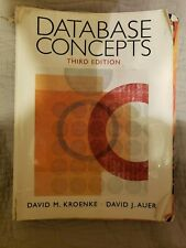 Database Concepts by David J. Auer and David M. Kroenke (2007, Perfect,...