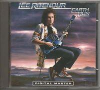 LEE RITENOUR - Earth run - CD 1986 USATO OTTIME CONDIZIONI