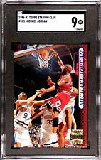 "SGC Mint 9 ""Graded"" 1996-97 Stadium Club #101 Michael Jordan"