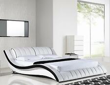 American Eagle B-D030-Q Modern White Queen Platform Bed