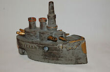 "New ListingCast Iron ""Oregon (Large)"" Still Bank Made By J. & E. Stevens"