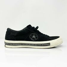 Converse Neighborhood One Star 158601C Black White Shoes Size 8.5