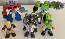 Hasbro Rescue Bots Cody Banks Optimus Doc Greene Lot