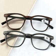 New Women Men Ultralight Reading Glasses Spring Resin Lens Eyeglasses PC Reader