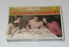 Scrabble Crossword Dominoes SEALED 1975 Selchow Righter