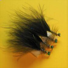 /Taille 10 Lot de 6/goldhead Noir Bleu Flash Demoiselles/