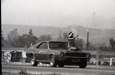 Riverside International Raceway AMC AMX Pace Car - Vintage Drag Racing Negative