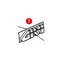 Z229 GIVI Scritta GIVI cromata di ricambio per valigia E52 / V46 / E340